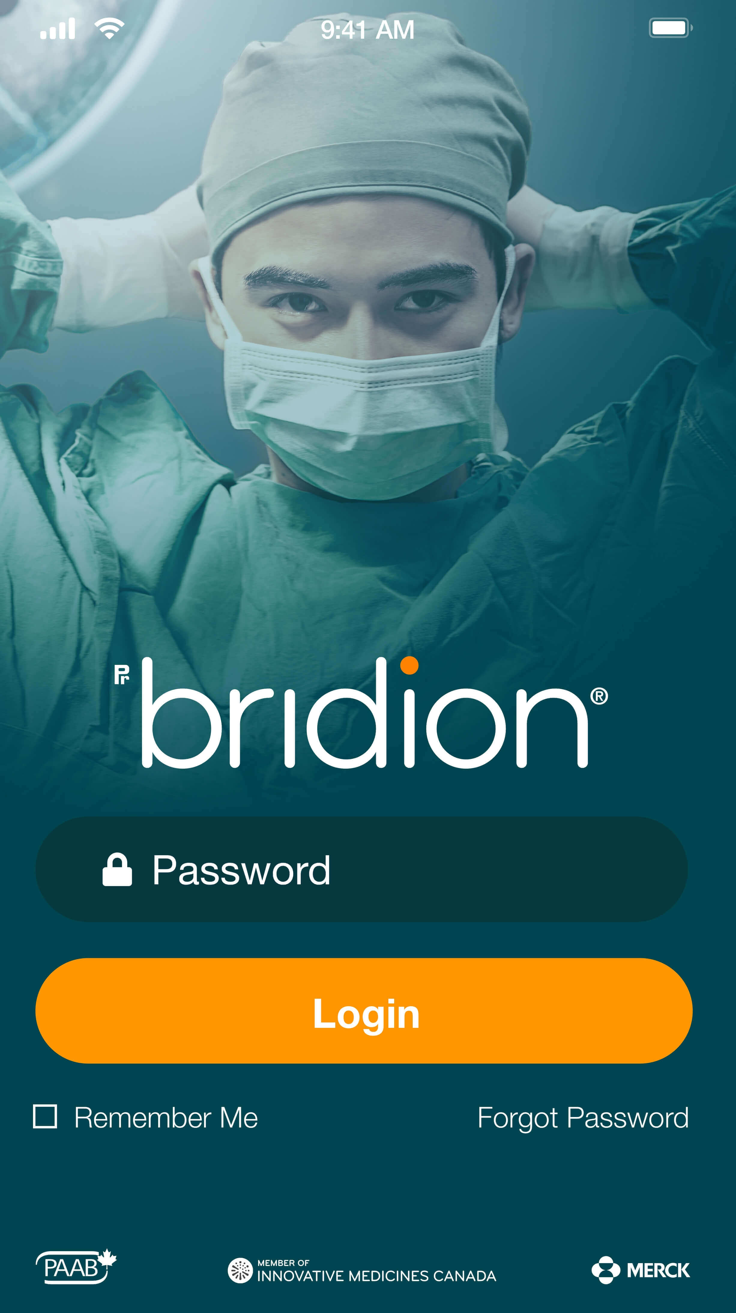 bridion app inner pages
